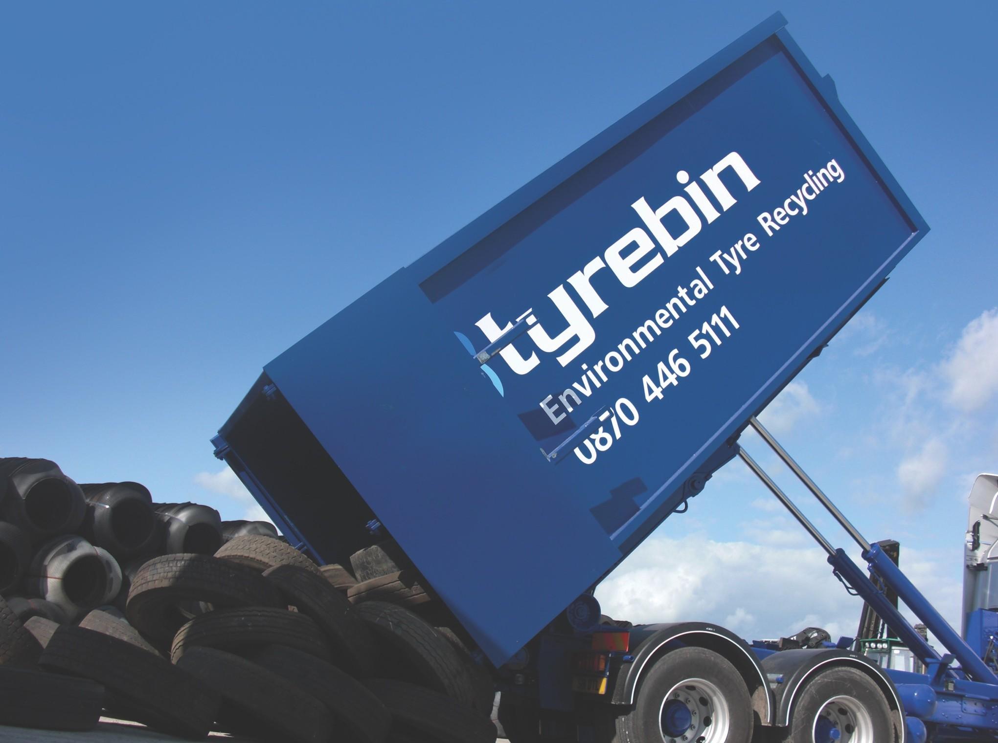 Tyrebin | Environmental Tyre Recycling